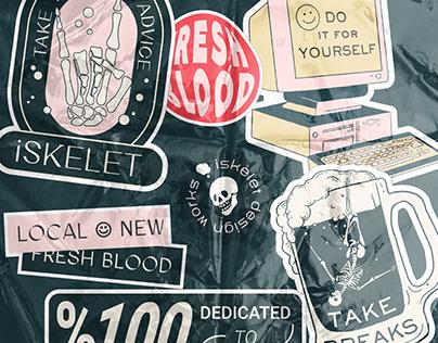 Fresh Blood Sticker Pack
