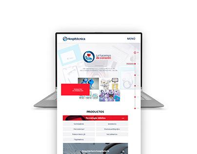 Hospitécnica Web Design UX