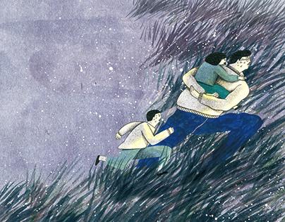 Illustration for Kids Monthly