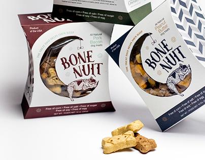 Bone Nuit dog treat packaging