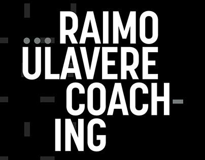Brand Design for Raimo Ülavere Coaching