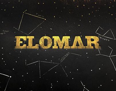 ELOMAR 80 ANOS - letterpress poster