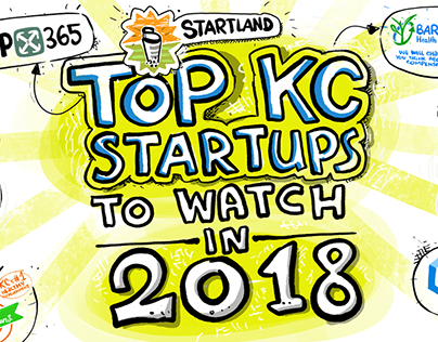 Top KC Startups to watch in 2018