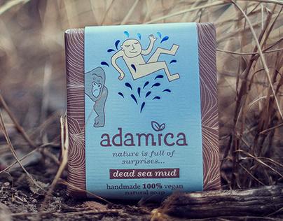 Adamica Vegan Natural Oil Soap