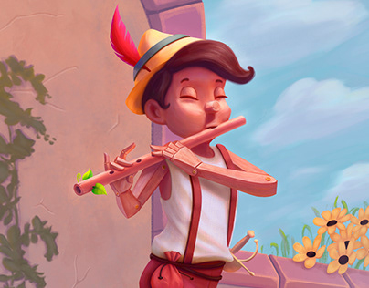 The Bard Pinocchio