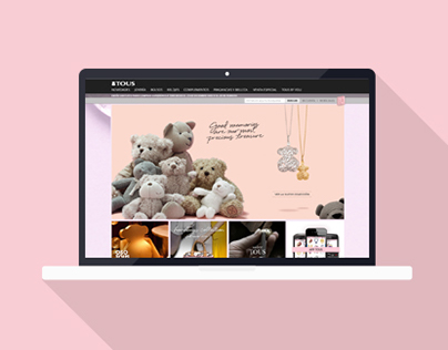 Tous Jewelry Website & eCommerce — 2012 Version