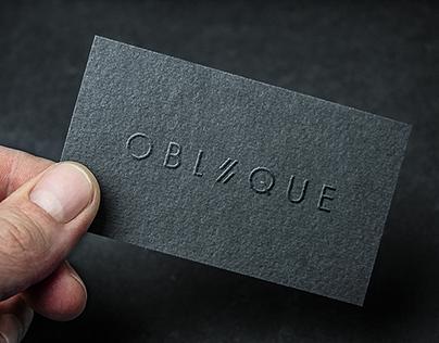 OBLIQUE STUDIO - Identity