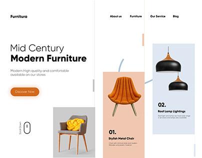 Mordern Furniture Website Front UI