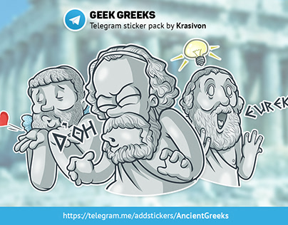 Stickers : Ancient Greeks