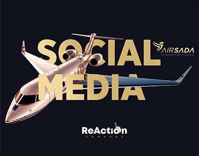 Airsada Social Media Concept