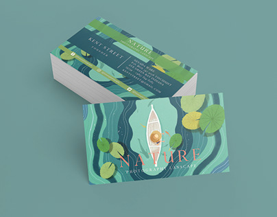 NATURE BUSINESS CARDS