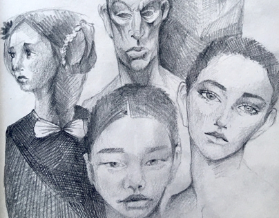 Faces Sketchbook