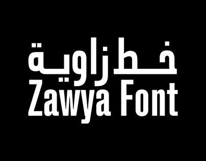Zawya Pro Typeface