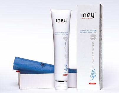 Дизайн для бренда INEY, TM SPLAT