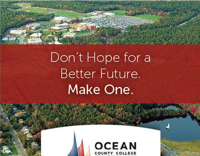 Ocean County College Online Landing Page