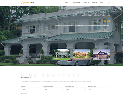 TP REALESTATE- Premium WordPress Theme