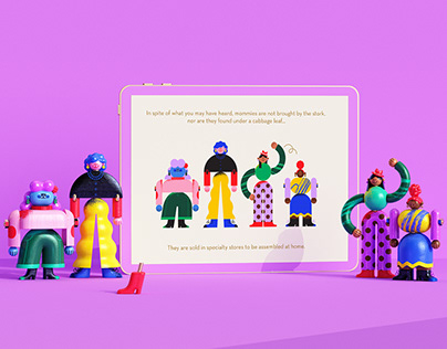 How to buy, assemble, and set up a Mommy · Digital Book