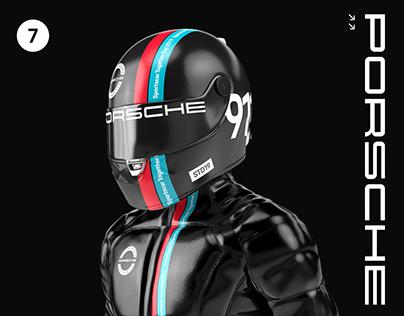 Music: Porsche Sportscar Together Day Moscow identity
