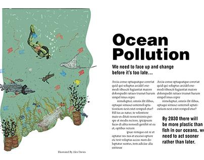 Anti Environment Pollution Illustrations
