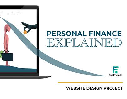 Finforall Wordpress Website Project