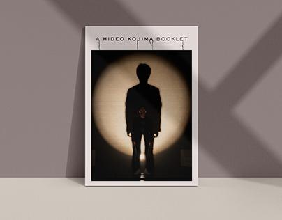 A Hideo Kojima Booklet   Booklet Design