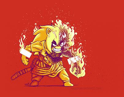 Blazing Punk Pyro!
