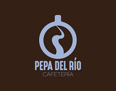 Diseño de Imagen Corporativa de Cafetería Pepa del Río
