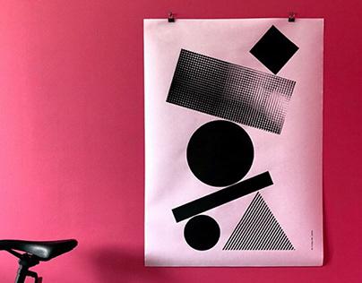 Balanced — a studio poster project