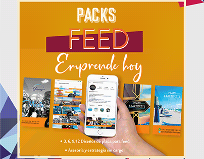 Packs feed emprendedores pymes empresas