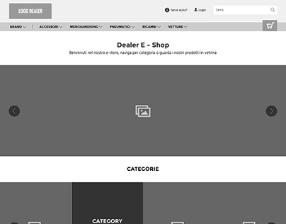 MotorK: Wireframing an e-commerce website design