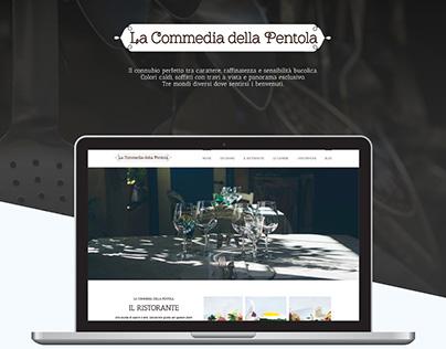 La Commedia Della Pentola Website