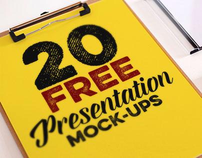 Dealjumbo Free Bundle vol.2 – 20 Mock-ups