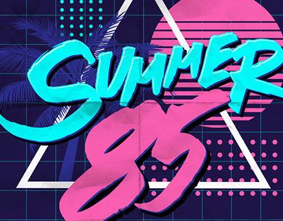 SUMMER 85 - Free Font