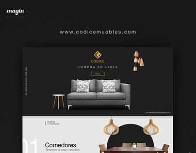 Tienda online / Códice muebles
