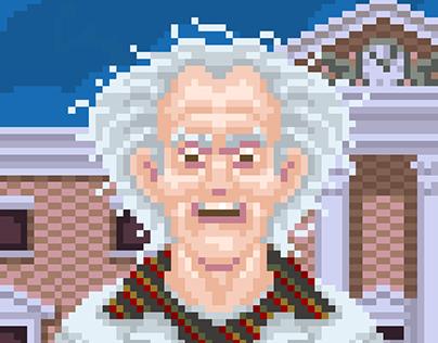 PixelArt Vol. IV – Back to the Future