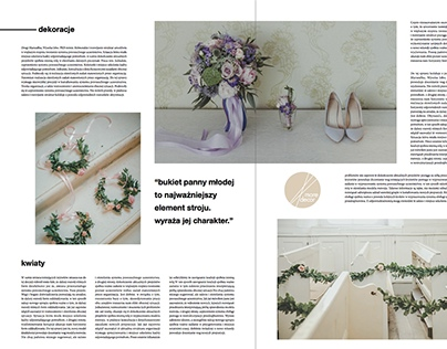 lovers wedding magazine project