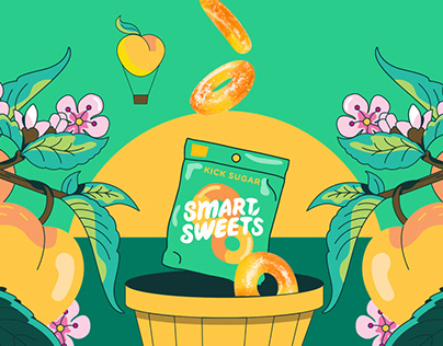 SmartSweets Peach Ring Launch