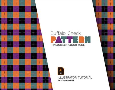 Pattern Buffalo check Style design