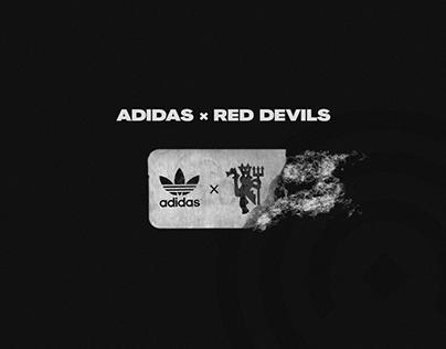 Adidas Originals ✖ Red Devils   Football Kit