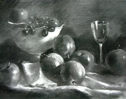 charcoal sketch study