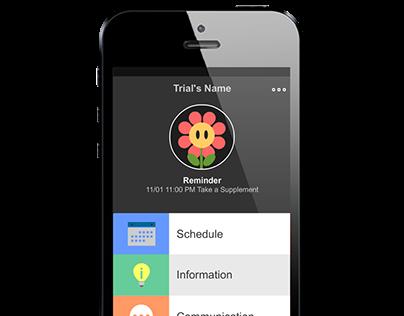 TrialsConnect App UX/UI Design