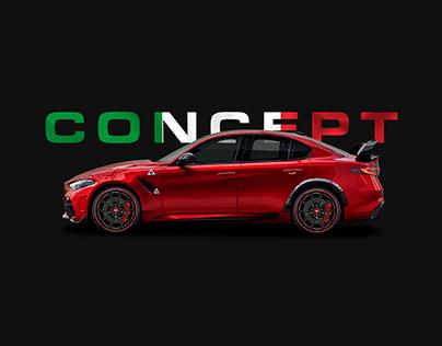 (concept) Giulia GTAm Builder