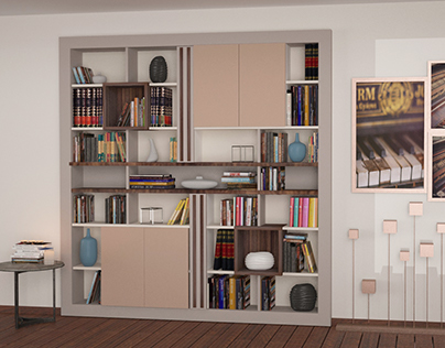 Kitaplık Tasarımı