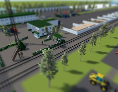 Interactive presentation of EcoTechPark