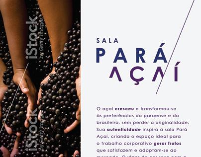 Descrição Sala Pará Açaí Cyrela Next (2018)