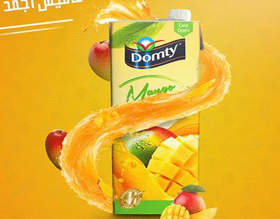 Domty juice Social Media
