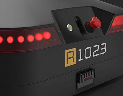 "RONAVI M"" logistics robot"