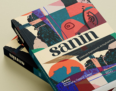 """Sanin"" Book Cover Design"