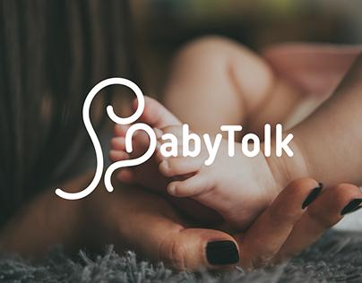 BabyTolk Logo Design