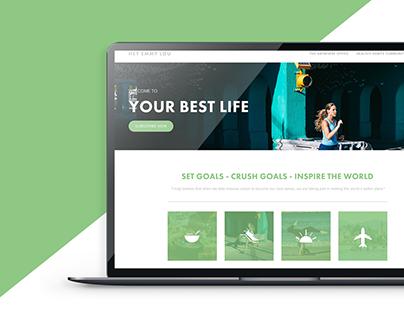Hey Emmy Lou Website Design